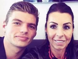 Il selfie di Max Verstappen con mamma Sophie