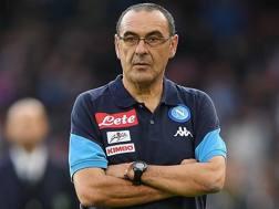 Maurizio Sarri, è il tecnico del Napoli Getty