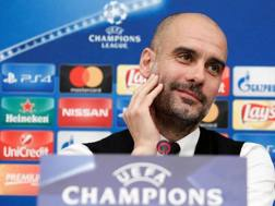 Pep Guardiola, tecnico del Manchester City. Afp