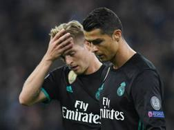 Kroos e Ronaldo, le facce dicono tutto. Epa