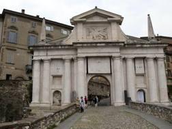 Le mura venete di Bergamo patrimonio mondiale Unesco. LaPresse