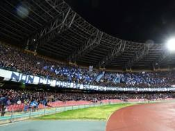 Lo stadio San Paolo. Ansa