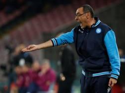Maurizio Sarri, 58 anni, allenatore del Napoli. Reuters