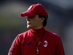 Vincenzo Montella, è il tecnico del Milan LaPresse
