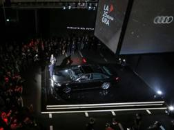L'Audi A8 all'evento milanese