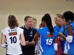 Massimo Bellano, 44 anni, alla prima stagione alla guida del Club Italia femminile