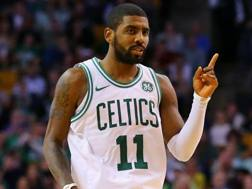 Kyrie Irving, 25 anni, prima stagione a Boston. Afp
