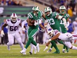 Il RB dei NY Jets Matt Forte, autore di due touchdown