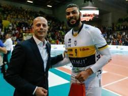 Earvin Ngapeth, 26 anni, il migliore di Modena in questo scorcio di stagione