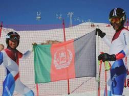 Husaini e Farhang sulle piste di St Moritz