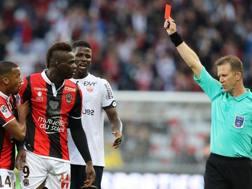 Mario Balotelli, 27 anni, attaccante Nizza. AFP