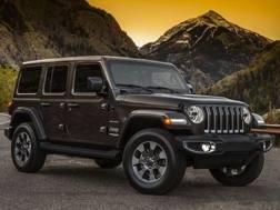 La Jeep Wrangler in arrivo