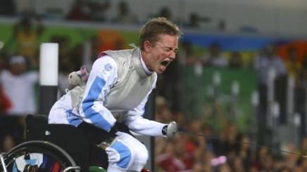 Bebe Vio, 20 anni, durante le Paralimpiadi di Rio 2016
