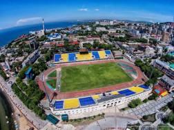 Lo stadio del Luch-Energiya a Vladivostok. FB