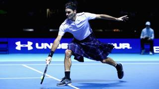Federer, Scottish style a casa Murray