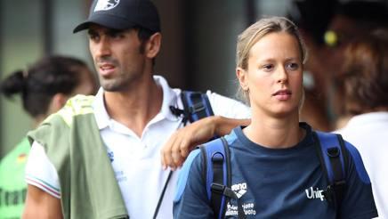 Federica Pellegrini e Filippo Magnini in una foto d'archivio. Getty Images