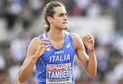 Gianmarco Tamberi, 25 anni, campione mondiale indoor. Epa