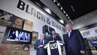 """Juve, 120 anni in mostra:  al JMuseum c'è """"Black & White Times"""""""