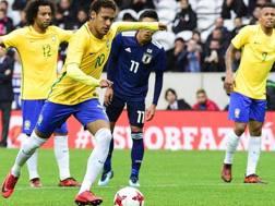 Amichevole Giappone-Brasile 1-3. EPA