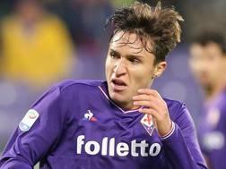 Federico Chiesa, 20 anni, esterno della Fiorentina Getty