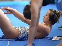 Federica Pellegrini, 29 anni, tre titoli mondiali nei 200 stile libero ANSA
