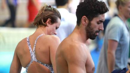 Federica Pellegrini, 29 anni e Filippo Magnini, 35 . Kulta