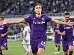 Federico Chiesa, 20 anni, centrocampista Fiorentina. ANSA