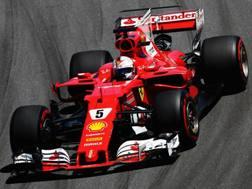Sebastian Vettel, quinta vittoria del 2017. Getty