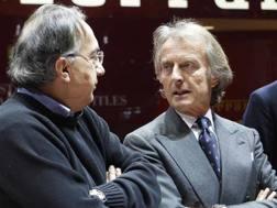 Da sin Sergio Marchionne e Luca Montezemolo. Reuters