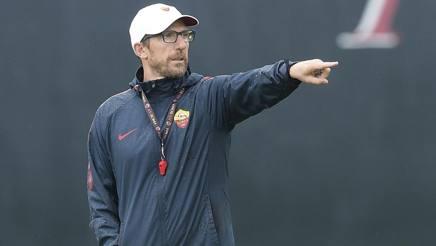 Eusebio Di Francesco, 49 anni, prima stagione da allenatore giallorosso. Lapresse