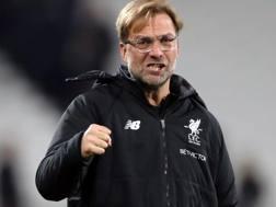 Jürgen Klopp, 50 anni, è il tecnico del Liverpool LaPresse