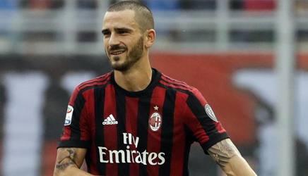 Leonardo Bonucci, prima stagione al Milan. Ap