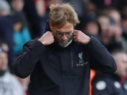 Jurgen Klopp , 50 anni, allenatore Liverpool. Reuters