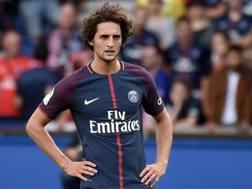 Adrien Rabiot, 22 anni, centrocampista del Psg. Epa