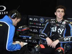 Francesco Bagnaia, 20 anni, corre con il VR46 team