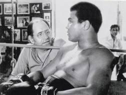 Ferdie Pacheco con Muhammad Ali