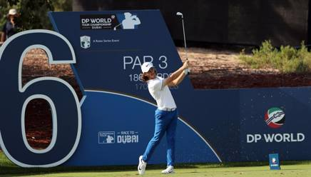 L'inglese Tommy Fleetwood. Afp