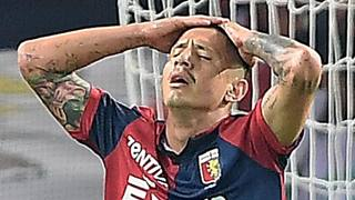 Gianluca Lapadula, prima stagione al Genoa. Getty