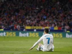 Cristiano Ronaldo, 32 anni, attaccante Real Madrid. AP