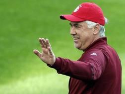 Carlo Ancelotti, qui ai tempi del Bayern. Epa