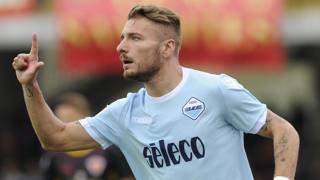 Ciro Immobile, attaccante della Lazio. Getty