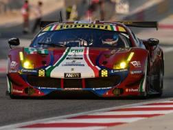 La Ferrari di Calado-Pier Guidi in azione in Bahrain