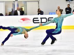 Nicole Della Monica, 28 anni, e Matteo Guarise, 29. Mattia Giacomello