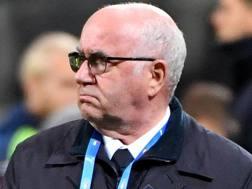 Carlo Tavecchio, 74 anni, è il presidente della Figc dal 2014 Ansa