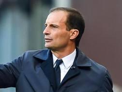 Massimiliano Allegri, 50 anni, tecnico della Juventus Ansa