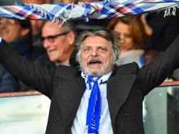 Massimo Ferrero, 66 anni. ANSA