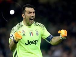 Gigi Buffon, 39 anni. Ansa