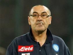 Maurizio Sarri, 58 anni, è il tecnico del Napoli Afp