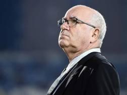 Carlo Tavecchio, 74 anni, presidente della Figc. LaPresse