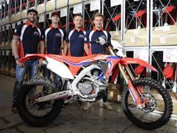 Il Team RedMoto al completo